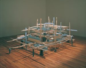 Michael Singer sculpture installation