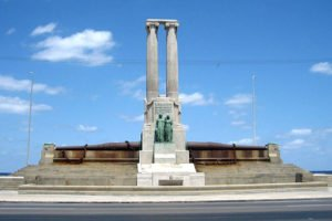 Maine Monument on Havana Harbor