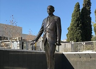 George Marshall Bronze Sculpture
