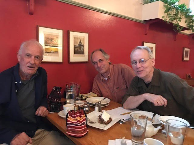 Peter Ruddick, Bob Hannum, and Byron Breese in Paul & Elizabeth's